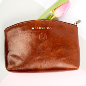 Personalised Mothers Day Makeup Bag Gift. 'The Chia'