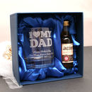 Mini Alcohol Gift Set For Dads With Personalised Glass