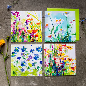 Flower Garden Card - Collection Two