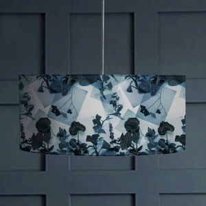 Botanical Photo Collage Lampshade - bedroom