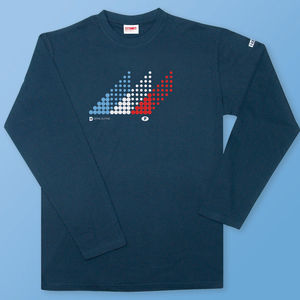 Men's Downhill France Long Sleeve T Shirt