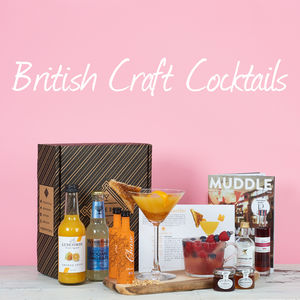 British Craft Cocktail Set