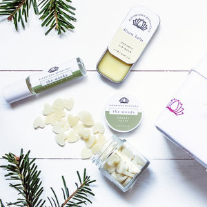Wrapped Eco Friendly Travel Gift Set - bath & body