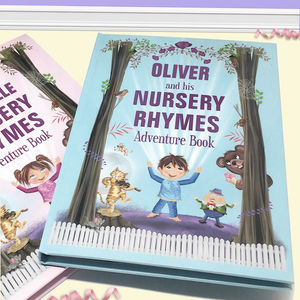 Personalised Nursery Rhymes Adventure Book - baby & child