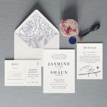 Tiffany Wedding Invitation