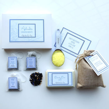 'Aphrodite' Spa And Tea Personalised Gift