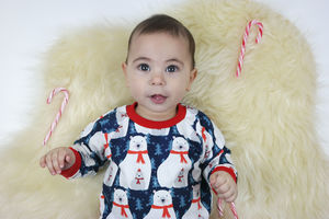 Polar Bear Christmas Jumper, Handmade Unisex - new in baby & child
