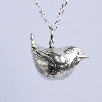 Bird, Wren, Robin Necklace, Bird Gifts