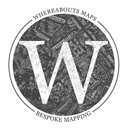 Whereabouts Maps Logo