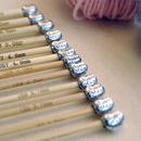 Mum Knitting Needles Six Pair Set