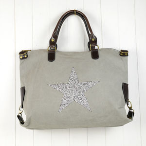 Sparkle Star Gym / Holdall Bag - laptop bags & cases