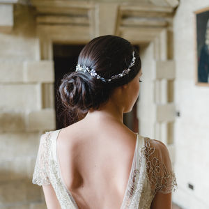 Laurel Leaf Hair Vine Bridal Accessory