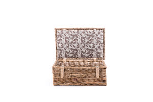 The Oak Leaf Hamper - boxes, trunks & crates