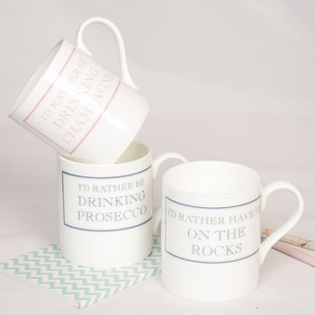 I'd Rather Be… Christmas Gift Mugs