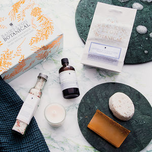 Personalised Botanicals Pamper Gift Box - christmas catalogue
