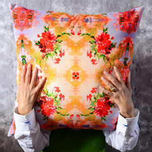 Large And Luxurious Velvet Cushion 'Casa' 55x55cm