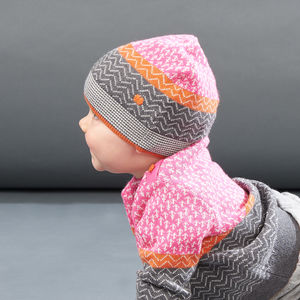 Ossie Mini Trees Knitted Hat - children's hats