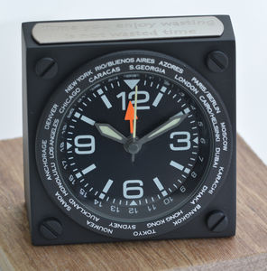 Personalised World Time Travel Clock
