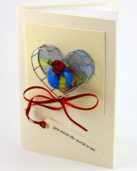 You mean the world to me greetings card by karrie barron you mean the world to me greetings card m4hsunfo