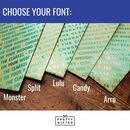 choose your font
