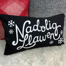 Welsh Christmas Cushion