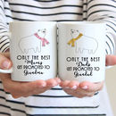 Personalised New Grandad Or Grandma Mug, Grandparents