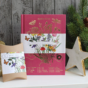 Gardening Notes Personalised Notebook