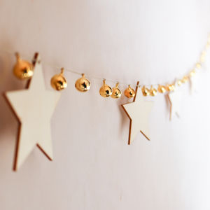 Stars And Bells Garland