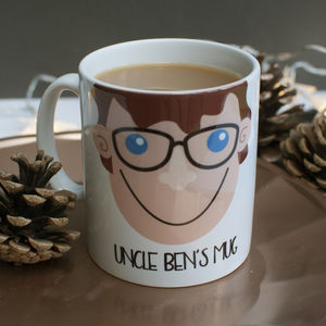 Personalised Uncle Gift Mug - tableware