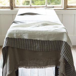 Linen Tablecloth - tablecloths
