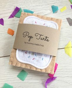 Pretend Play Felt Food Pop Tarts