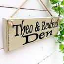 Personalised Nursery Or Playroom Sign