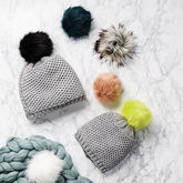 Mum And Me Interchangeable Pom Pom Hats - mother's day