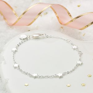 By The Inch Star Bracelet - christmas jewellery