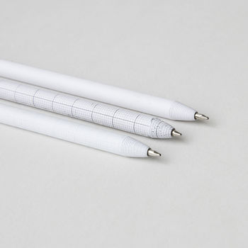 Set Of Three Paper Pens