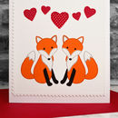 Personalise the card for your boyfriend, girlfriend, husband or wife on Valentines Day