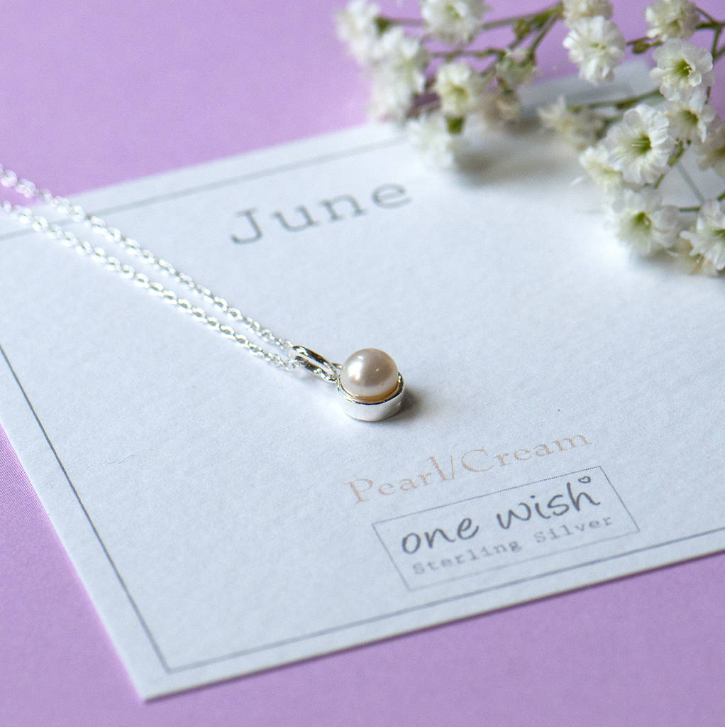 d8e11bb32 june birthstone sterling silver necklace by grace & valour ...