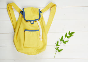 Yellow Knapsack - children's accessories