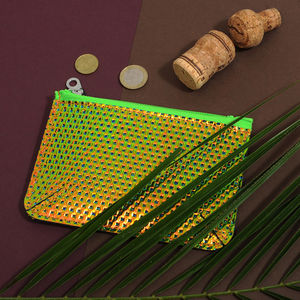 Tropical Leather Purse - bags, purses & wallets