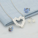 Silver Forget Me Not Jewellery Set