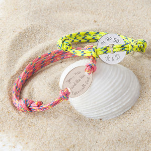 Personalised Nautical Bracelet - bracelets & bangles