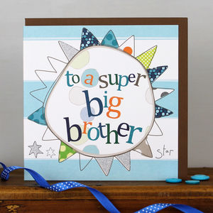 Birthday Card For A Big And A Little Brother - birthday cards