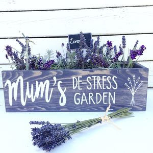 Personalised Grow Your Own Lavender Window Box Planter - new in christmas