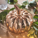 Rose Gold Pumpkin Light