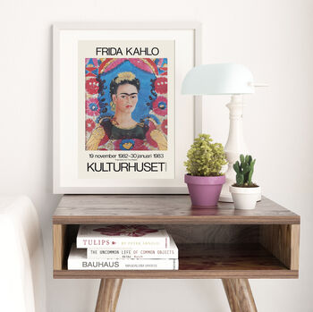 Frida Kahlo Exhibition Print