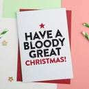 Bloody Great Christmas Card