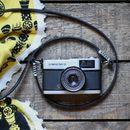 Handmade Leather Skinny Camera Strap
