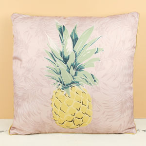 Vintage Style Pineapple Pattern Cushion - cushions