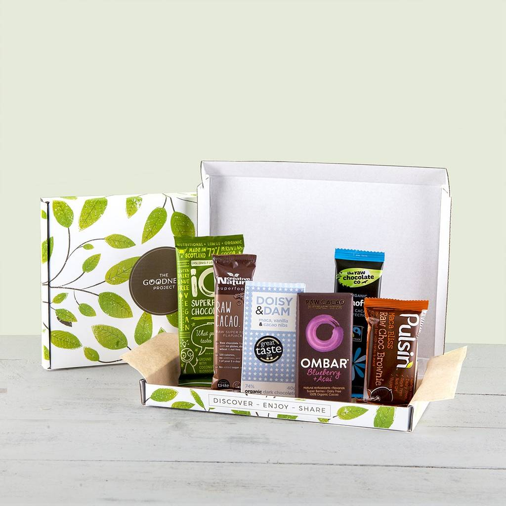 Superfood Chocolate Letterbox Gift