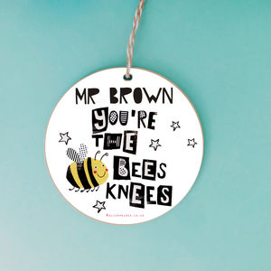 Personalised Thank You Teacher Keepsake